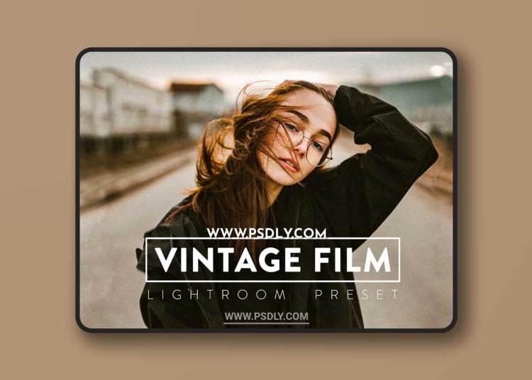 CreativeMarket - 10 VINTAGE FILM Lightroom Presets 6523025
