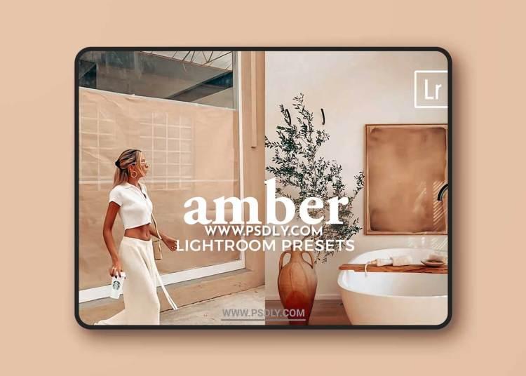 CreativeMarket - 4 Lightroom Presets AMBER 5542921