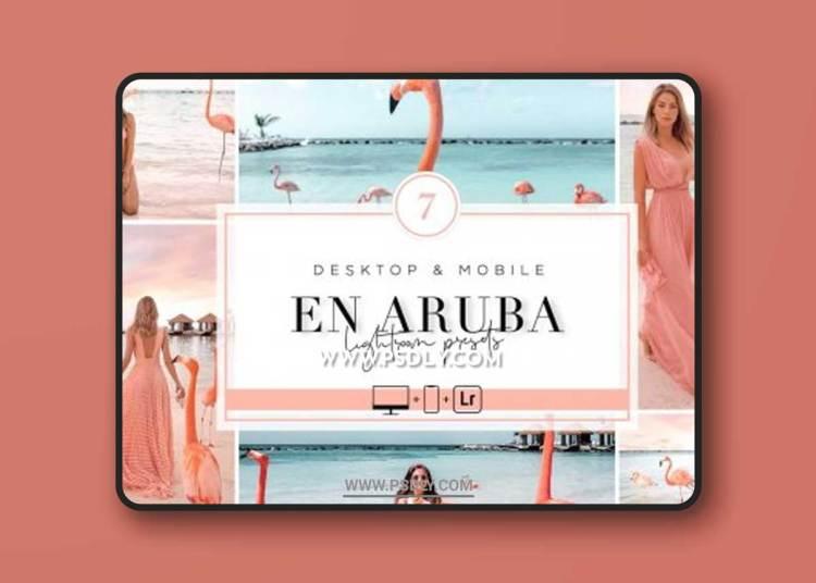 CreativeMarket - EN ARUBA - Lightroom Presets 6451962