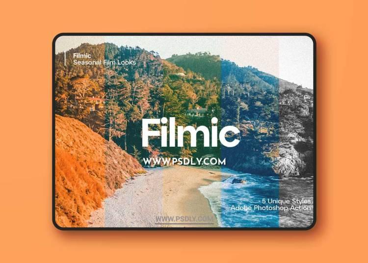 CreativeMarket - Filmic - 5 Seasonal Film Looks 6280682