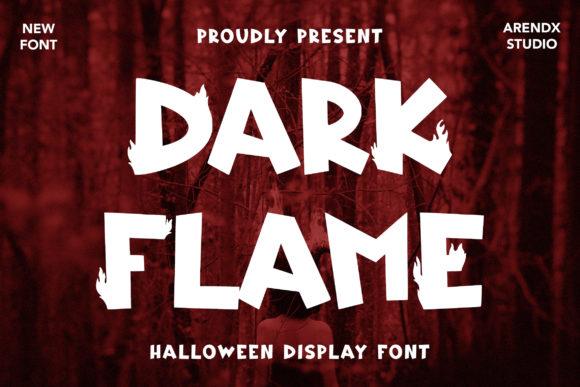 Dark Flame Font