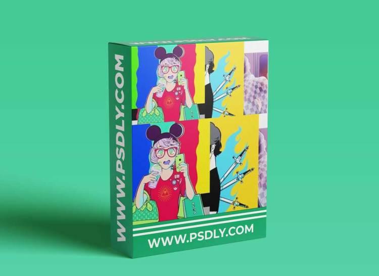 Domestika – Digital Illustration with Manga Influence