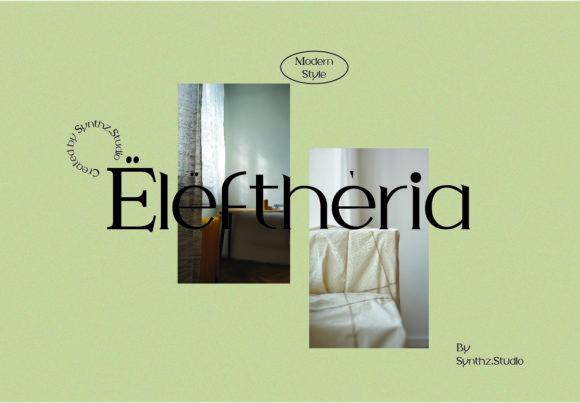 Eleftheria FontEleftheria Font