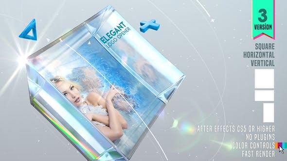 Videohive Elegant Logo Opener 24022128