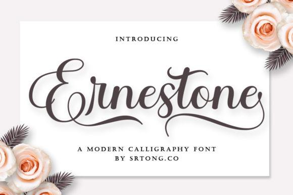 Ernestone Script Font