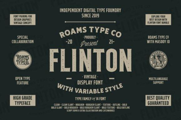 Flinton Family Font