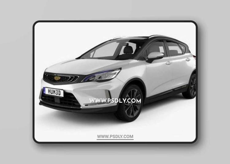 Geely Emgrand GS Dynamic 2019 3D Models