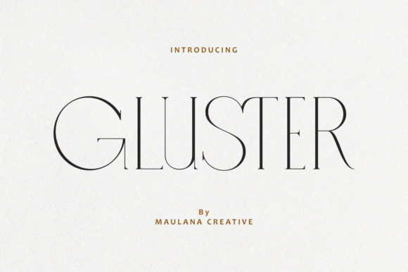 Gluster Font