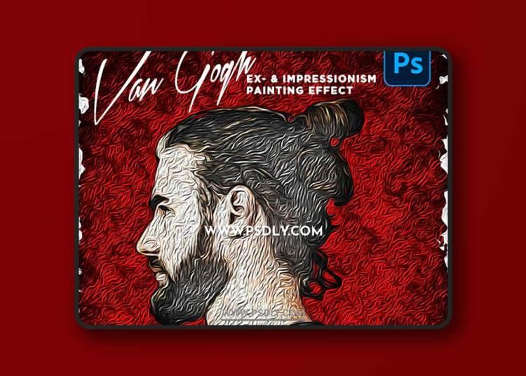 GraphicRiver - Van Gogh - Ex-/Impressionism Art Effect   Action Pack 33266468