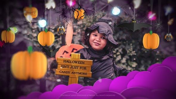 Videohive Halloween Stylish Slideshow opener 34201694