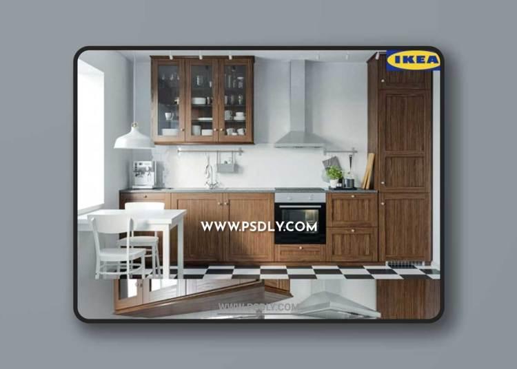 Ikea Edserum Kitchen 3D Models