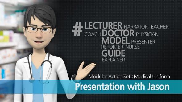 Videohive Presentation With Jason: Medical Uniform 16538077