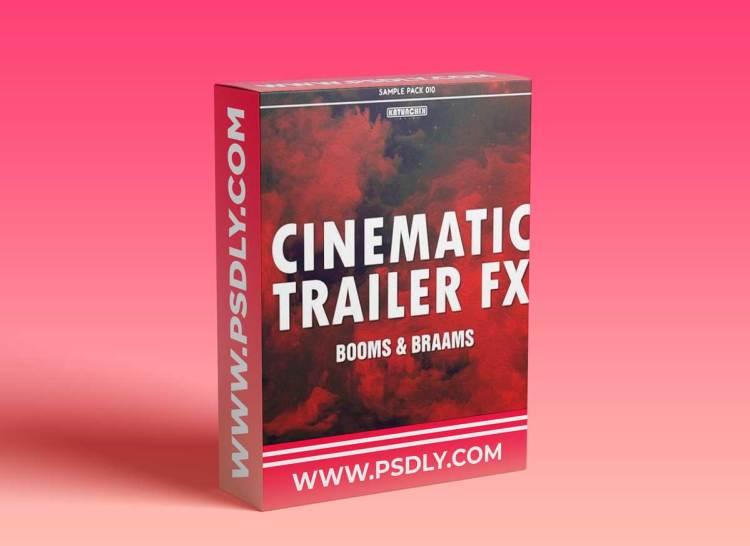 Katunchik Sounds Cinematic Trailer FX Booms and Braams WAV