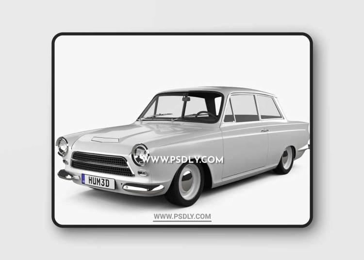 Lotus Cortina 3D Model o93616