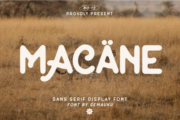 Macane Font