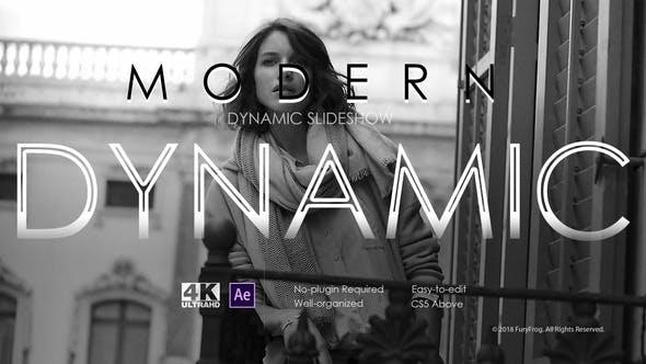 Videohive Modern Dynamic Slideshow 22217869