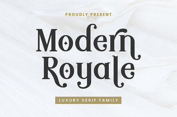 Modern Royale Font