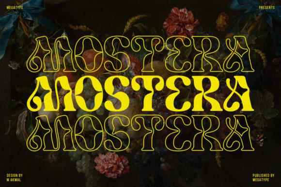 Mostera Font