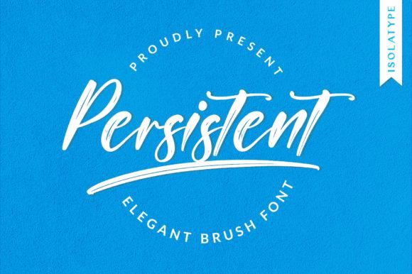 Persitent Font