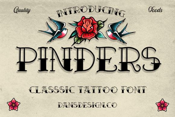 Pinders Font