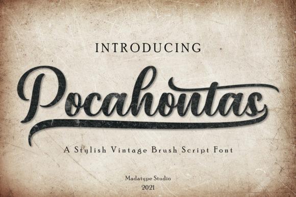 Pocahontas Font