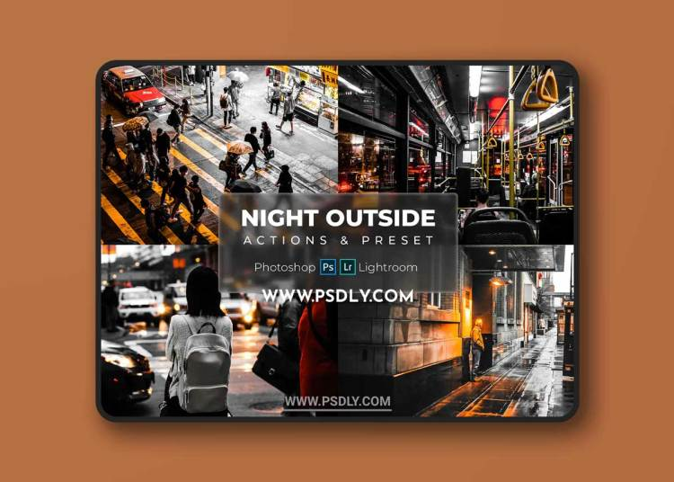 Presets & Actions - Night Outside