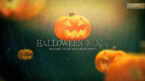 Videohive - Halloween Party Promo - 34114743