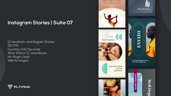 Videohive Instagram Stories   Modern Lifestyle   Suite 07 34099232