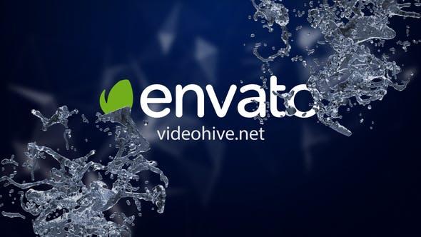 Videohive Logo Water Splash 34162245