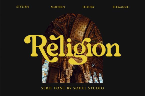 Religion Font