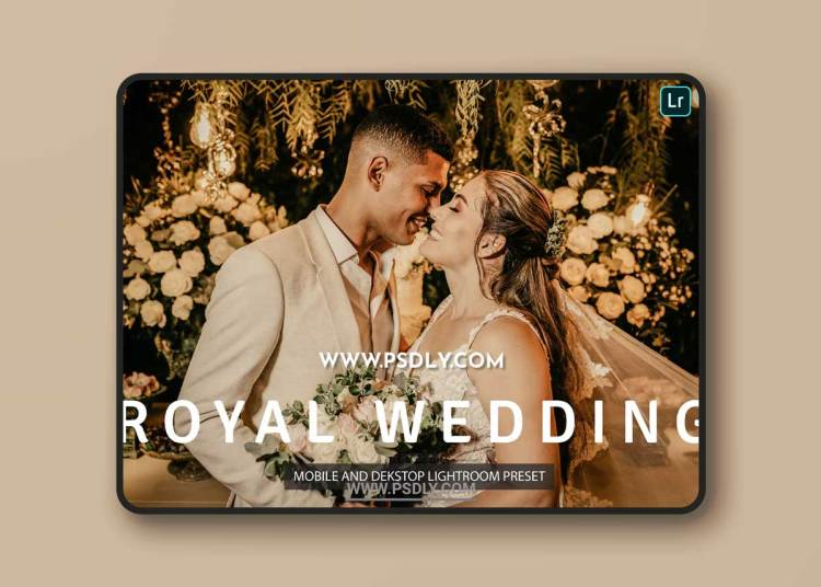 Royal Wedding Lightroom Presets Dekstop and Mobile