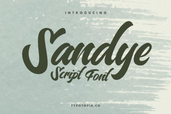 Sandye Font