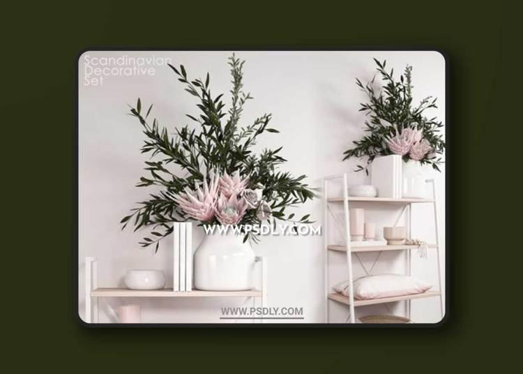 Scandinavian decorative set 02