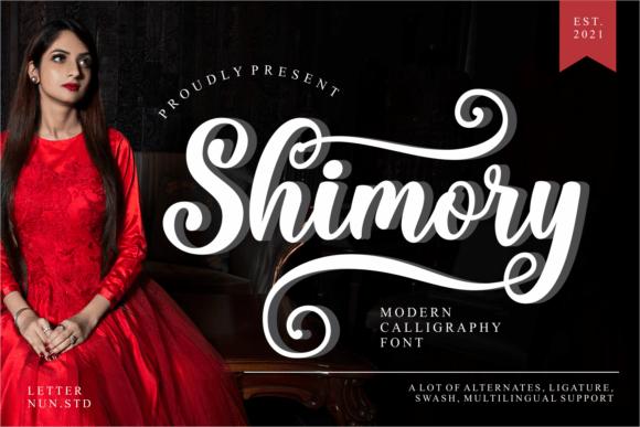 Shimory Font