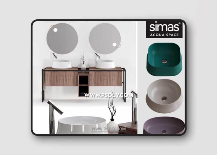 Simas Sharp & Frame Set 3D Models