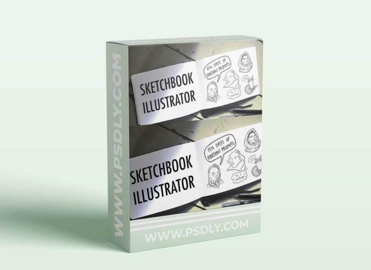 Sketchbook Illustrator: 10 Days of Portrait Prompts
