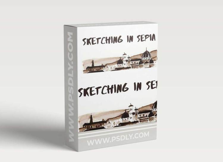 Sketching in Sepia: A Beginner's Guide to Contrast & Dramatic ValuesSketching in Sepia: A Beginner's Guide to Contrast & Dramatic Values