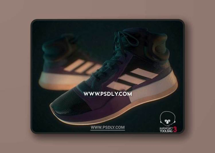 Sneaker Adidas Marquee Boost 3D Models