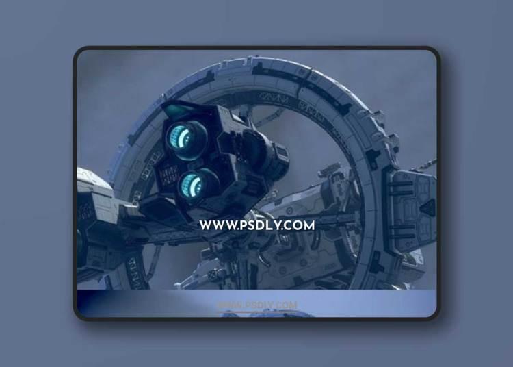 Spaceship Modules 3D Models
