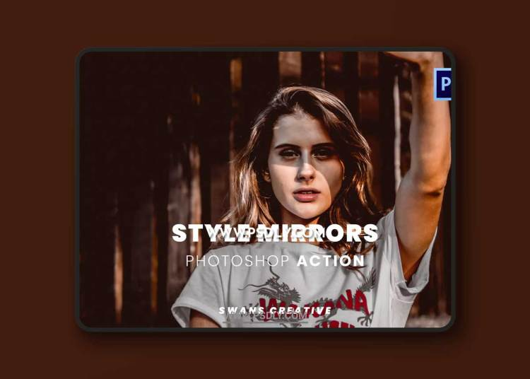 Style Mirrors Photoshop Action