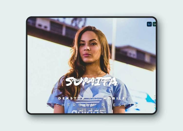 Sumita Desktop and Mobile Lightroom Preset