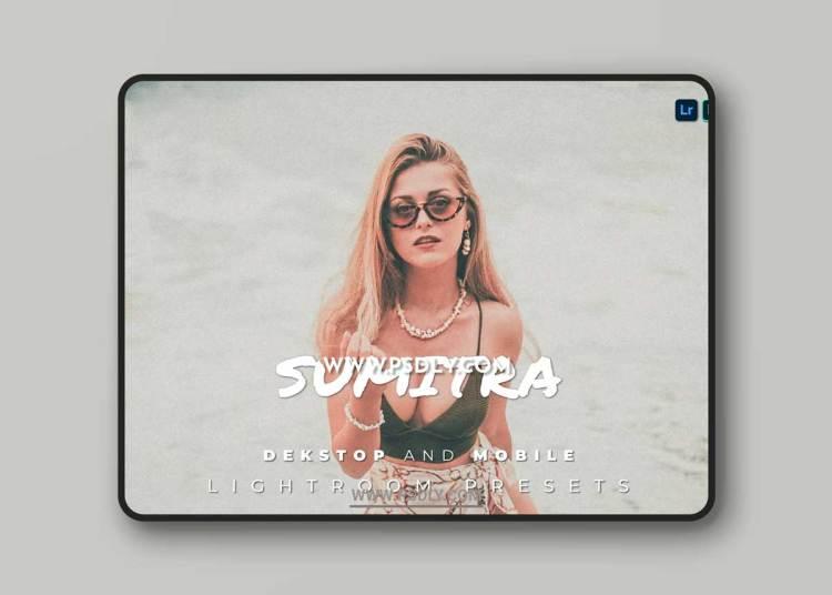 Sumitra Desktop and Mobile Lightroom Preset