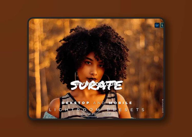 Surate Desktop and Mobile Lightroom Preset