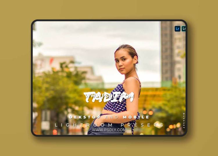 Tadim Desktop and Mobile Lightroom Preset