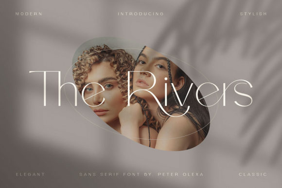 The Rivers Font