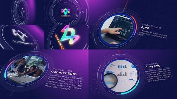 Videohive Tech Company Timeline 34162221