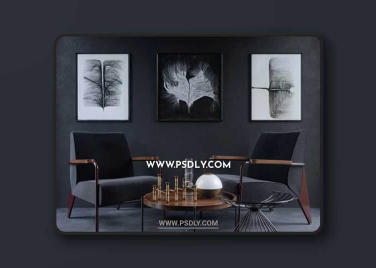 Vitra Chair Fauteuil de Salon 3D Models