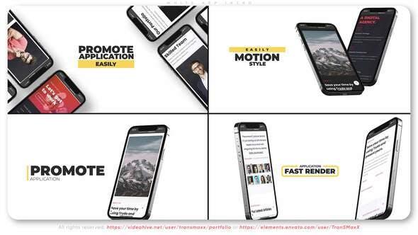 Videohive White App Intro 34112979