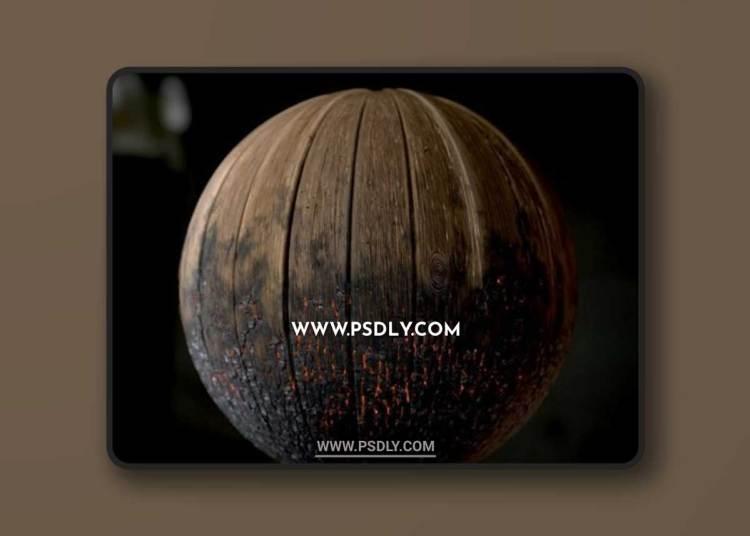 Wood Planks Material 3D Models