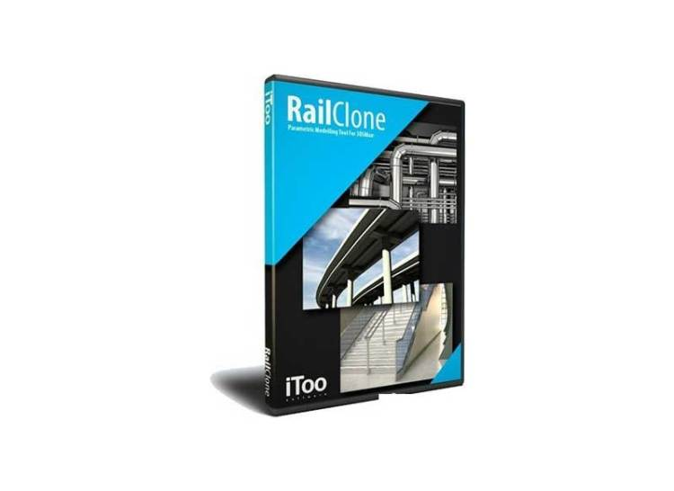 iToo Software - RailClone v3.3.1 for 3ds Max 2017-2022